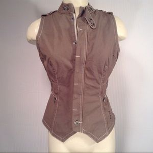 G StarTan Cotton Military Vest Size Small for sale